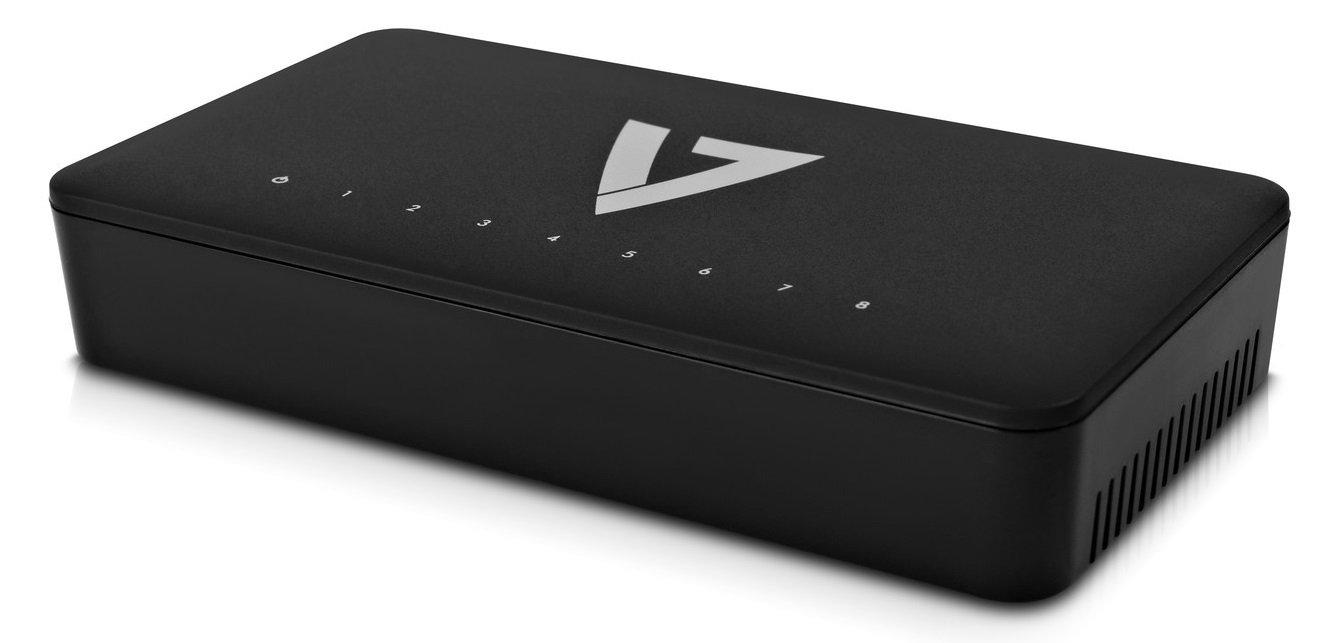 V7 EGS8-1N 8PORT Unmanaged Gigabit Switch