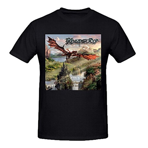 rhapsody-of-fire-symphony-of-enchanted-mens-grey-tee-shirts-crew-neck-black