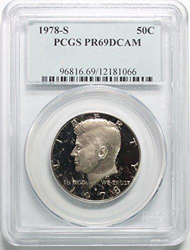 - 1978 S Kennedy Clad Half Dollar 50c PR69DCAM PCGS