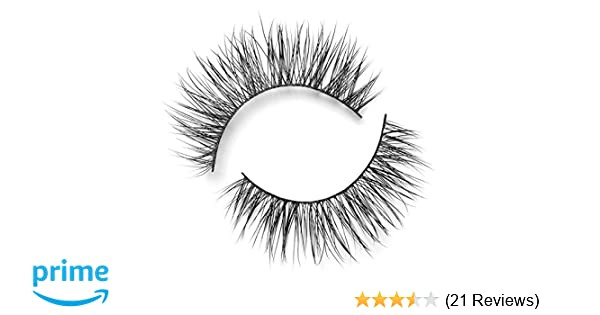 de967a9e7be Amazon.com : Lilly Lashes Lite Mink Diamonds   False Eyelashes   Natural  Look and Feel   Mink   Stackable & Reusable   Non-Magnetic   100% Handmade  ...