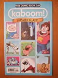 img - for Kaboom Summer Blast. Free Comic Book Day 2014. Adventure Time, Peanuts, Garfield book / textbook / text book