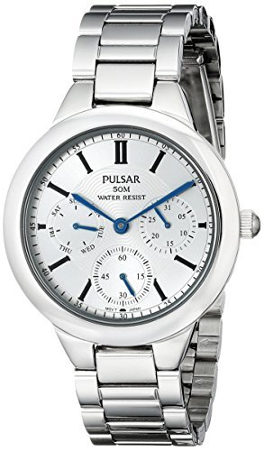 Pulsar Women's PP6131X Everyday Value Analog Display Japanese Quartz Silver Watch