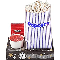 Fun Express Hollywood Movie Night Snack Trays (1 dozen)