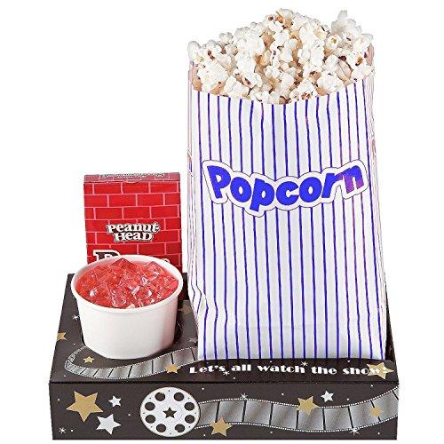 Fun Express Hollywood Movie Night Snack Trays (1 Dozen) ()