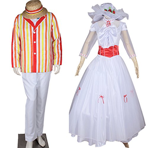 CosplayDiy Costume for Mary Poppins Bert Outfit and Mary Poppins Princess MTM