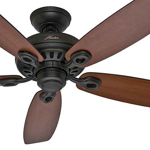 Hunter Fan 52 inch Casual Ceiling Fan in New Bronze, 5 Blade (Renewed)