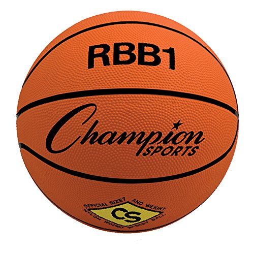 CHAMPION SPORTS CHAMPION BASKETBALL OFFICIAL SIZE (Set of 12) by Champion Sports