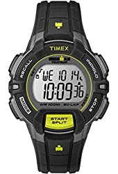 Timex Ironman 30 Lap Rugged Mid Size Watch - Black/Lime