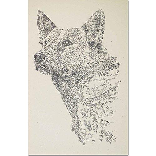 Kline Dog Lithograph - 7