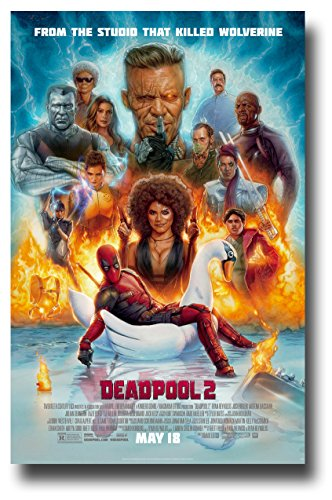 DeadPool 2 Poster Movie Promo 11 x 17 inches Dead Pool Two DP2 Main -