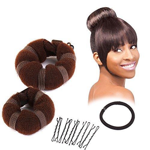 sent-hair-2-pieces-donut-hair-bun-makerchignon-bun-maker-brown-smalllarge-by-sent-hair