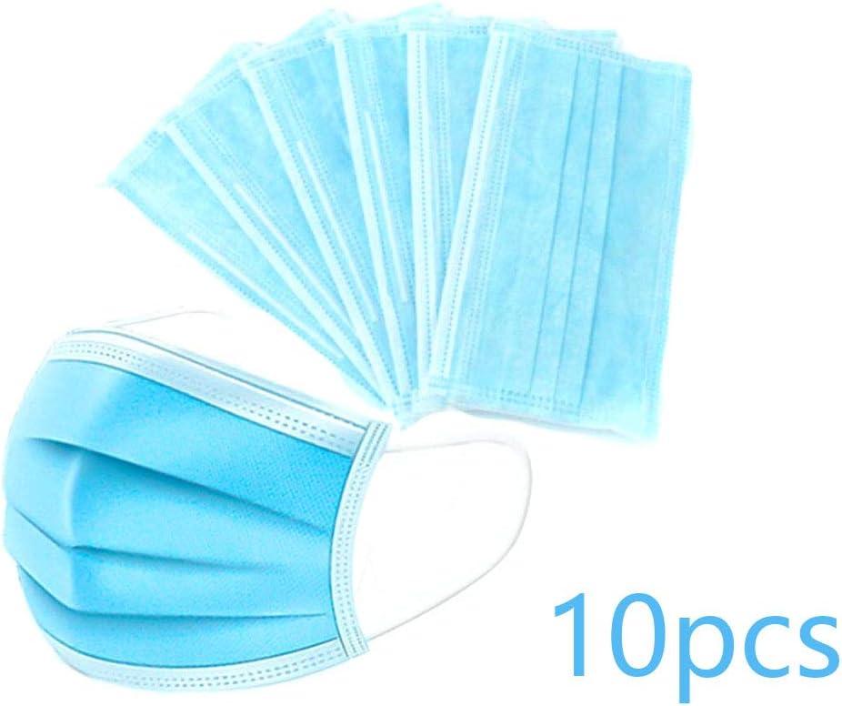 10pcs desechables máscara anti-polvo de la mascarilla del respirador Médico de la cubierta protectora facial Hombres Mujeres