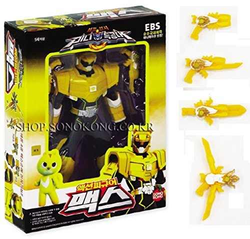 MINI FORCE Miniforce Max Robot Action Figure, Yellow