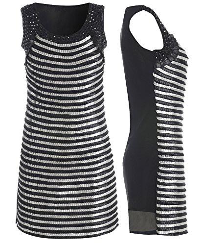 Damen Enganliegendes Partykleid Größe 101214 Schwarz etbVjc ...