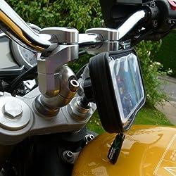 Honda CBR1000RR Fireblade Galaxy S4 GT-i9500 Motorcycle Fork Stem Yoke Mount (sku 16789)
