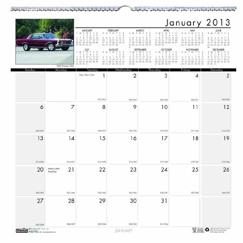 Doolittle Classic Cars - House of Doolittle Earthscapes Classic Cars Wall Calendar 12 Months January 2013 to December 2013 12 x 12 Inches Photo Recycled, Full Color (HOD3771) by House of Doolittle