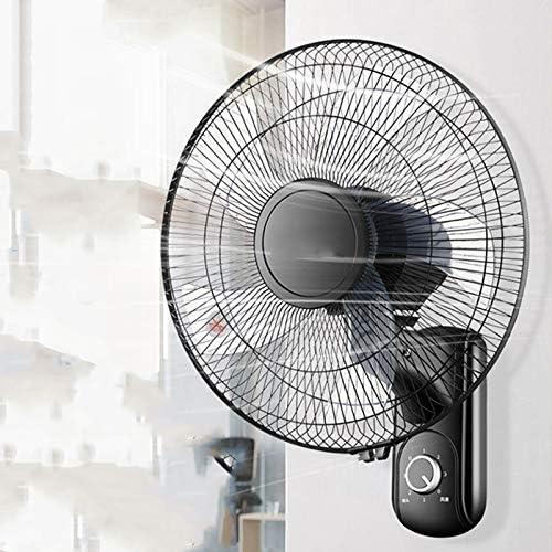 16inch oscillerende muurventilator, industriële ventilator met 3 snelheden, stille ventilator voor wandmontage voor thuiskantoor (met 3M verlengkabel) cd4g5WuQ