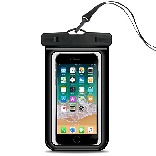 BuySevenSide Waterproof Case,100% Waterproof Phone Pouch Dry Bag for iPhone X/8/7/7 Plus/6S/6, Samsung Galaxy S9/S9 Plus…