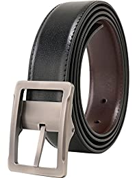 Men's Dress Belt Leather Reversible 1.25