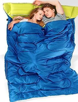 Saco de dormir rectangular saco de dormir Cama doble (200 x 200) + 5