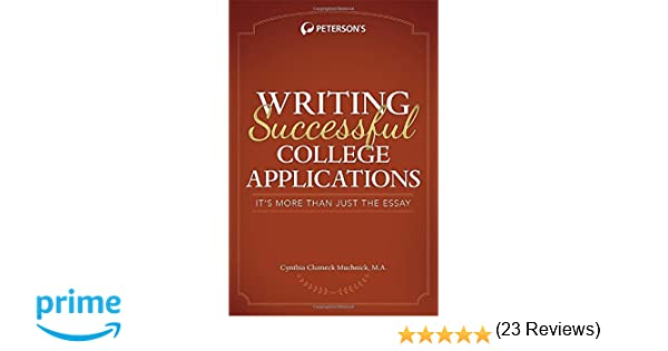 Writing Successful College Applications Its More Than Just The - On writing the college application essay by harry bauld
