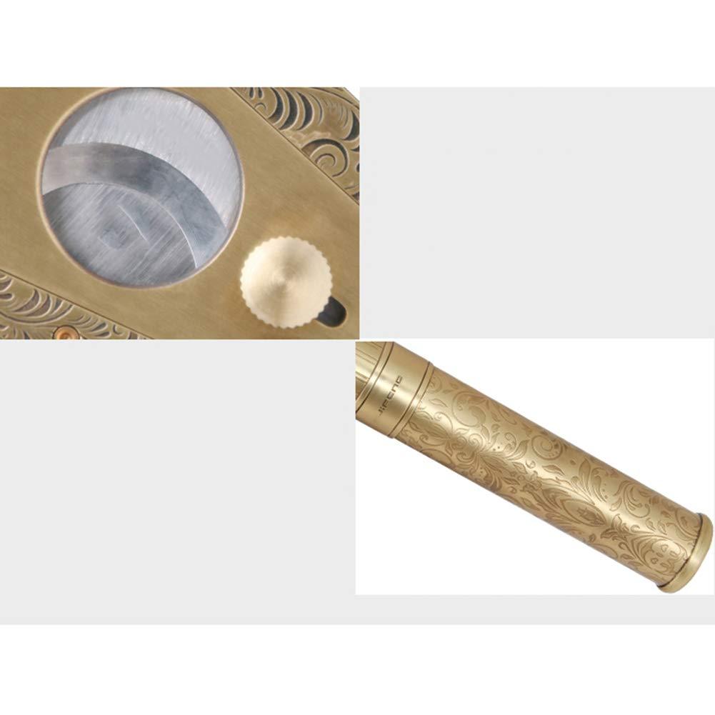 Cigar Smoking Gift Set, Brass Cigar Holder, Ashtray, Cigarette Holder, Cigar Tube 6 Piece Set by LTLSF (Image #6)