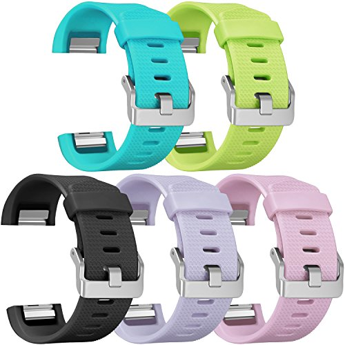 Fitbit Charge 2 Bands, SKYLET Silicone Replacement Bands for Fitbit Charge 2 Bracelet with Secure Watch Clasp