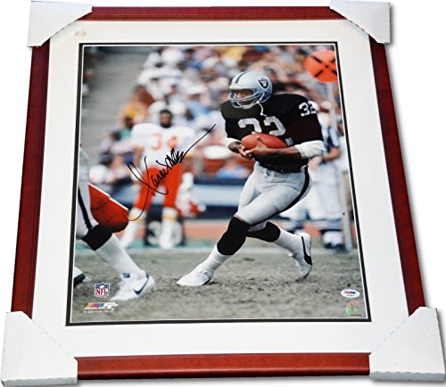 - Marcus Allen Hand Signed Autographed Custom Framed 16x20 Photograph PSA/DNA