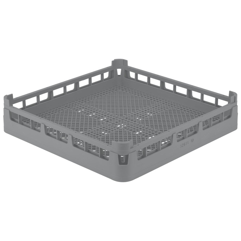 Vollrath 52671 Signature Full-Size Gray Flatware Rack