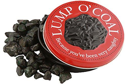 LUMP O' COAL BUBBLEGUM TIN, Because You've Been Naughty, 1 Oz, 4 Pack]()