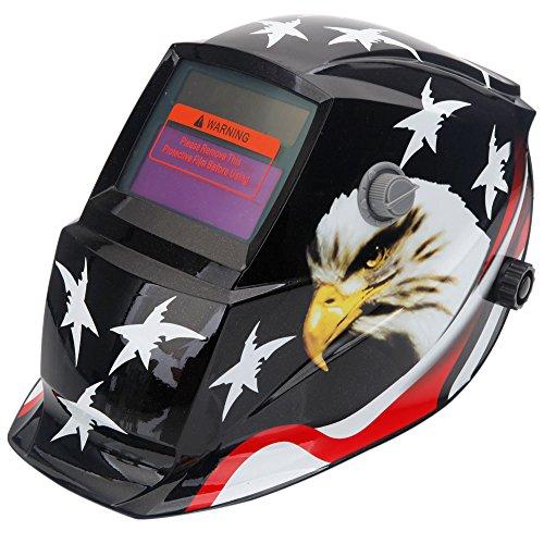 Best Prices! Olymstore Solar Powered Welder Welding Helmet Auto Darkening Weld/Grind Selectable Mask...
