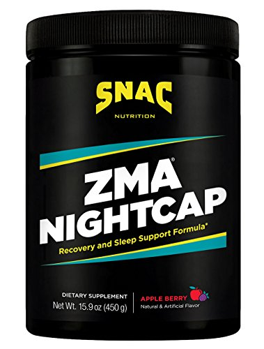 SNAC-ZMA-Nightcap-Rapid-Recovery-Sleep-Enhancer-Drink-Mix-Apple-Berry-450-Grams-159-Ounce
