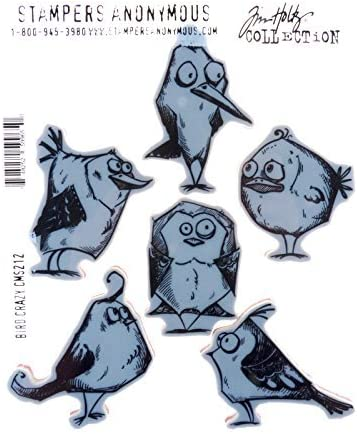 Stampers Anonymous CMS Set StampersA Cling Stamp THoltz Patchwork