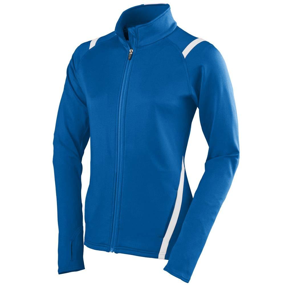 Augusta Sportswear Girls Freedom Jacket, Small, Royal/White by Augusta Sportswear