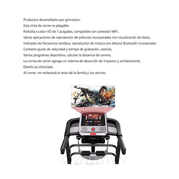 Fitness Club Tapis roulant Professionale, Pieghevole, Macchine da Passeggio Carico 150 kg, Cyclette Compatibile WiFi… 3 spesavip