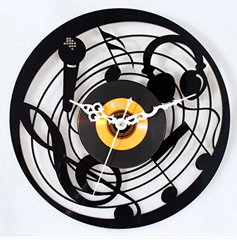 Jedfild The lovely art wall clock music Microphone