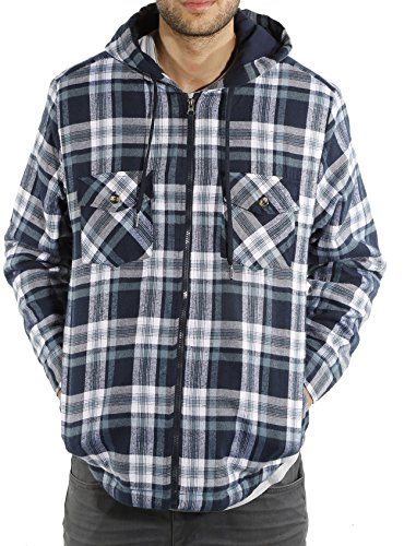 Plaid Flannel Jacket - 9