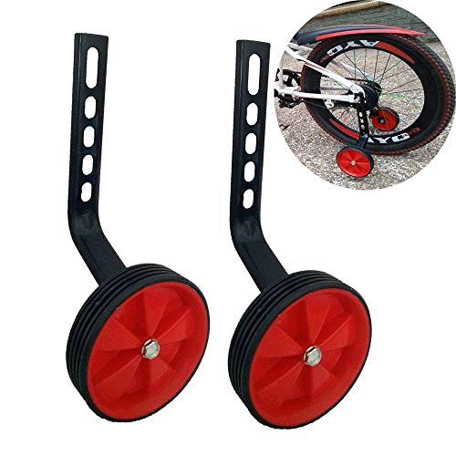LX a Pair of Children's Bicycle Training Wheels 12-20Inch Universal Kids Bike ()