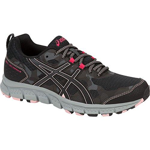 Pictures of ASICS Women's Gel-Scram 4 Running Shoe 1012A039 black 7
