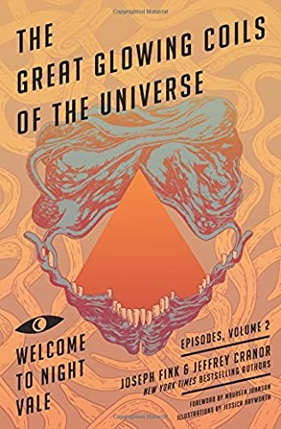 book cover of The Great Glowing Coils of the Universe