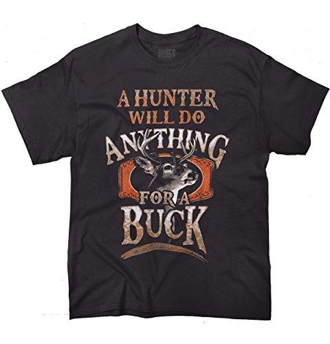 meadow-creek-hunters-buck-black-printed-tee-shirt