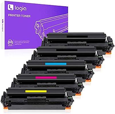 Amazon.com: Logia - Pack de 5 cartuchos de tóner compatibles ...