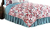 C&F Home Adrienne Quilt, King, Blue