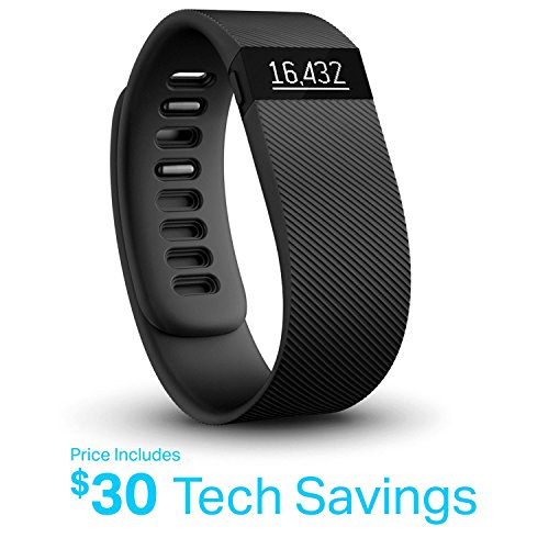 Fitbit FB404BKS Charge Wireless Activity Tracker (Small) - Black by Fitbit