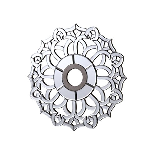 Decor Central ADCMD-1218D24SC Mirrored Ceiling Medallion, 24