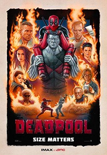 deadpool original movie poster