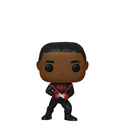 Funko Pop! Marvel Spider Man Gamer Miles Morales Unmasked Chase Exclusive: Toys & Games