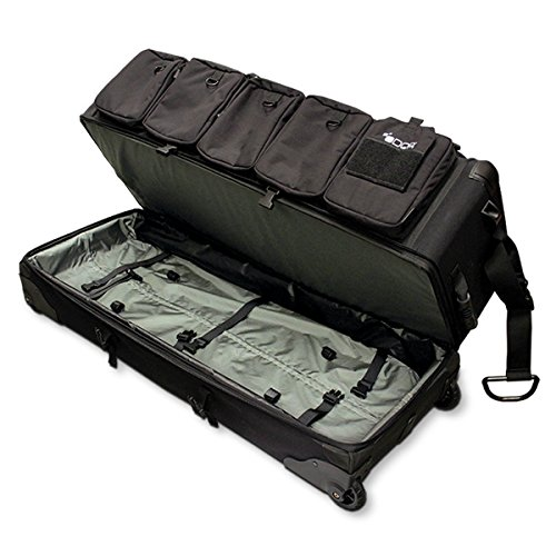 Odor Crusher Ozone Gun Case Rolling Transport Bag, Odor Eliminating Bag, Size: 39″ L x 15″ W x 15″ H