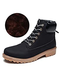 CHNHIRA Unisex Fashion Lace-up Ankle Martin Boots Work Shoes