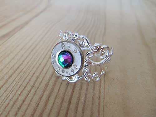 Bullet Ring - Filigree 38 Special bullet ring - Bullet Jewelry